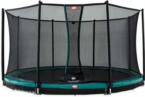 Berg Inground Favorit 430 + Safety Net Comfort Trampoline