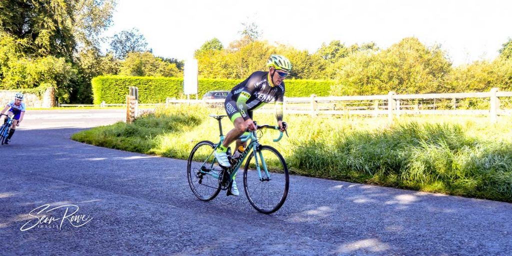 Micheal Flaherty riding the 2020 Wexford Co Championships