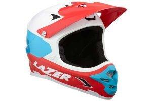 Lazer Phoenix+ Full Face MTB Helmet White/Blue/Red