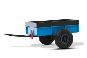Berg steel trailer blue XL